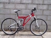 mens bike 26'' apollo aluminium frame