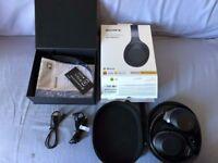 Sony WH-1000Xm2 APTX-HD Bluetooth Wireless Headphones - Black/Grey, Boxed