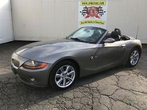 2003 BMW Z4 3.0i, Automatic, Leather, Convertible, 87,000km