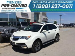 2010 Acura MDX Elite Pkg, AWD, Bluetooth, Navi, Clean Carproof