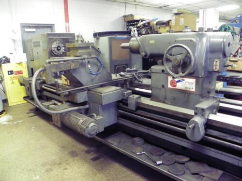 "48"" X 116"" American Cnc Engine Lathe With Machinemate Control"