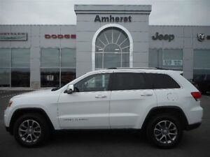 2014 Jeep Grand Cherokee LIMITED 4X4 MOONROOF, 4 NEW TIRES