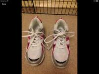Marks & Spencer girls trainers size UK2