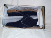 Loake Mojave Suede Mens Shoe - Navy and Brown Colour - Sizes available from 6 to 12 RRP £105