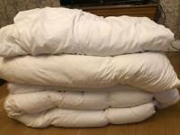 Move soon! All for sale! Quilt, duvet,goose,Sunggledown,Linea