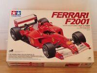 Rare / Collectable Tamiya Ferrari F2001 1/20 scale model.