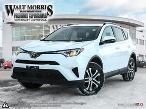 2017 Toyota RAV4 LE: LOCAL VEHICLE, ONE OWNER, ACCIDENT FREE