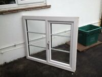 8 uPVC White Veka 2 New & 6 taken out straight away all in exellent condition with glass