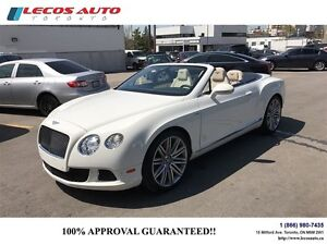 2014 Bentley Continental GT Speed GTC SPEED
