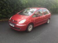 Citroën Xsara Picasso for sale. Well looked after family car