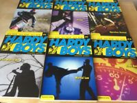 5 The Hardy Boys Paperback Books