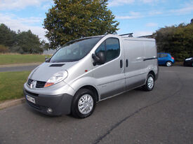 RENAULT TRAFIC 115 DCI DIESEL VAN 6 SPEED STUNNING SILVER 2007 BARGAIN ONLY 2950 *LOOK* PX/DELIVERY