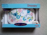 Snoopy light for kids room Magic Lamp BRAND NEW IN BOX