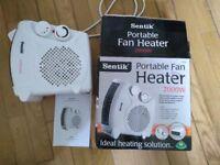 Sentik portable fan heater