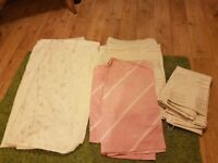 4 pairs of curtains