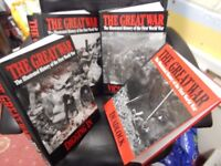The Great War Book set - Illustrated History of WW1 ITEM CAN BE VIEWED AT HOUSE OF HOPE CHARITY SHOP