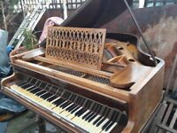 Grand Piano still in good condition and need tuning.