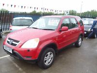 Honda Cr-v i-vtec se sport,2 litre petrol,great family car lots of space,4wd only when you need it,