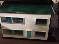Hand made dolls house