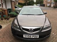 Mazda6 ts 2007 very low mileage,fsh,taxed and insured,AA/rac welcome,p-ex welcome,very reliable