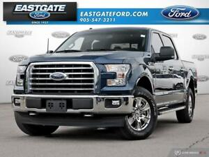 2017 Ford F-150 XLT CHROME 302A 4X4