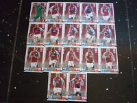 Match Attax 2014 /2015 - Aston Villa Team - Set of 17 Cards