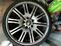 Bmw set of M3 alloys
