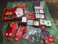 For Sale Approx 1500 Disney Gift Bags & Approx 1180 Christmas Cards & 50 Bottle Bags
