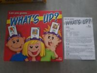 What's Up! Game