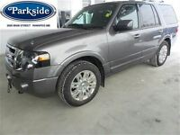 2012 Ford Expedition Limited 8 Passenger 4WD with Leather Moon &