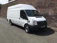 2013/62 FORD TRANSIT T350 XLWB JUMBO 125 BHP EURO 5 COMES WITH 12 MONTHS M.O.T HPI CLEAR NO VAT !!!