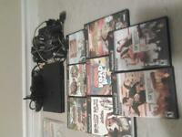 Ps2 system with games, games from other systems also available