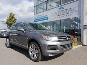 2014 Volkswagen Touareg EXECLINE  TOUAREG TDI, TOIT PANO, CAMERA