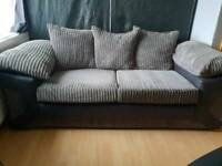 Grey 2 seater sofa