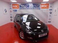 VW Polo MATCH(SIMPLY STUNNING) FREE MOT'S AS LONG AS YOU OWN THE CAR!!! (black) 2011