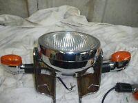 yamaha ybr125 headlight and indicators