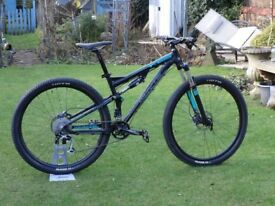 Whyte T-129 29er Full suspension mountain bike. First class working order.