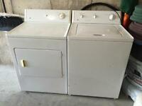 Washer and dryer *$200*