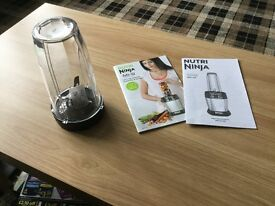 Nutri Ninja Blender with Auto IQ BL480UK Used in very good condition