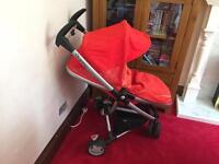 Quinny Zapp Xtra Pushchair, car seat and accessories