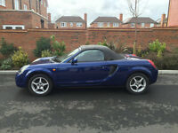 2002 52 - TOYOTA MR2 ROADSTER 1.8 VVTI 75K WITH SERVICE HISTORY