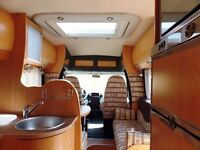 Chausson 3/4 berth motor home LHD is like brand new inside & out with low mileage.