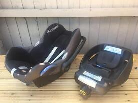 Maxi-cosi isofix and car seat