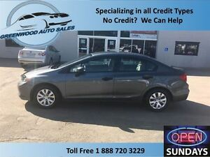 2012 Honda Civic Nice Clean car, Finance now!!!