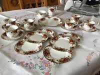 Old Country roses China set