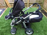 Apple to Pear icandy double buggy