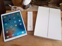 """128gb iPad Pro Cellular 12.9"""" and Apple Pencil - Email Swaps"""