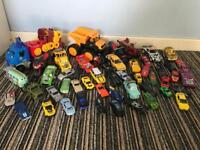 Selection of toy cars, trucks & motorbikes