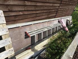Scaffold platform. Approx 5/6 meters?