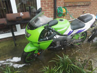 1997 KAWASAKI ZX 900-B4 NINJA GREEN,PROJET,BARN FIND, SPARES OR REPAIR